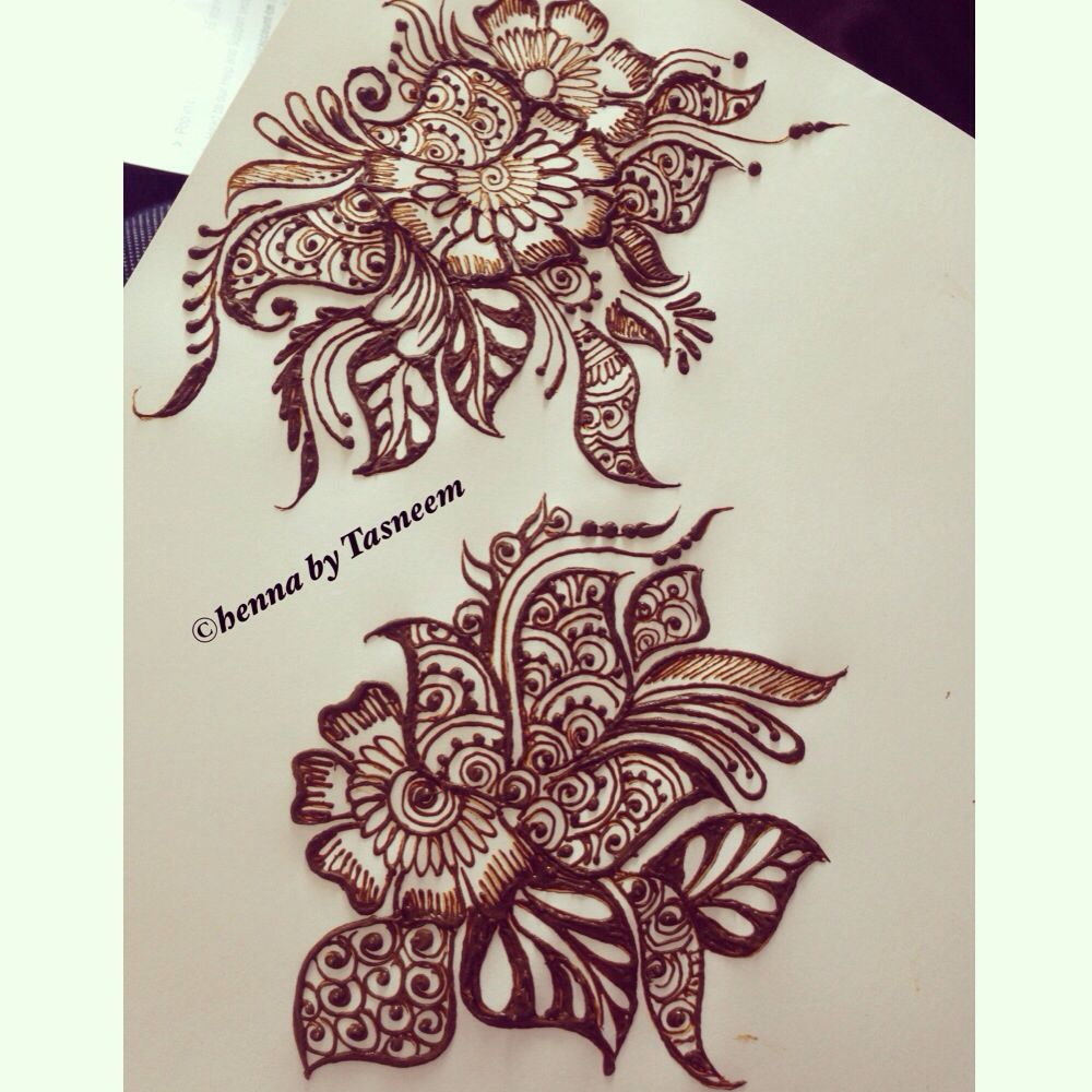 Simple Flower Henna Designs On Paper Magdalene Project Org
