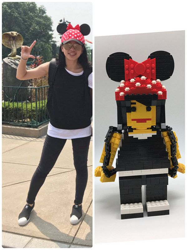Friends minifigures2: Sasa | Lego figures, Lego people, Sasa