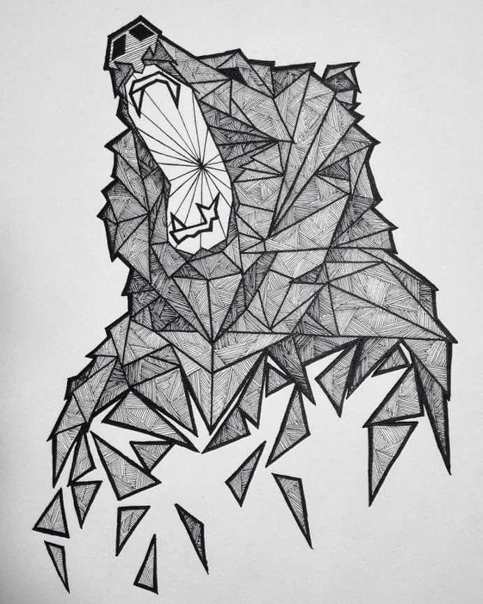 Resultado de imagen para geometric animals   Dibujos   Pinterest ...