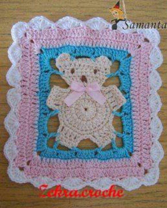 Bear granny | Crochet items | Pinterest | Applikationen und Häkeln