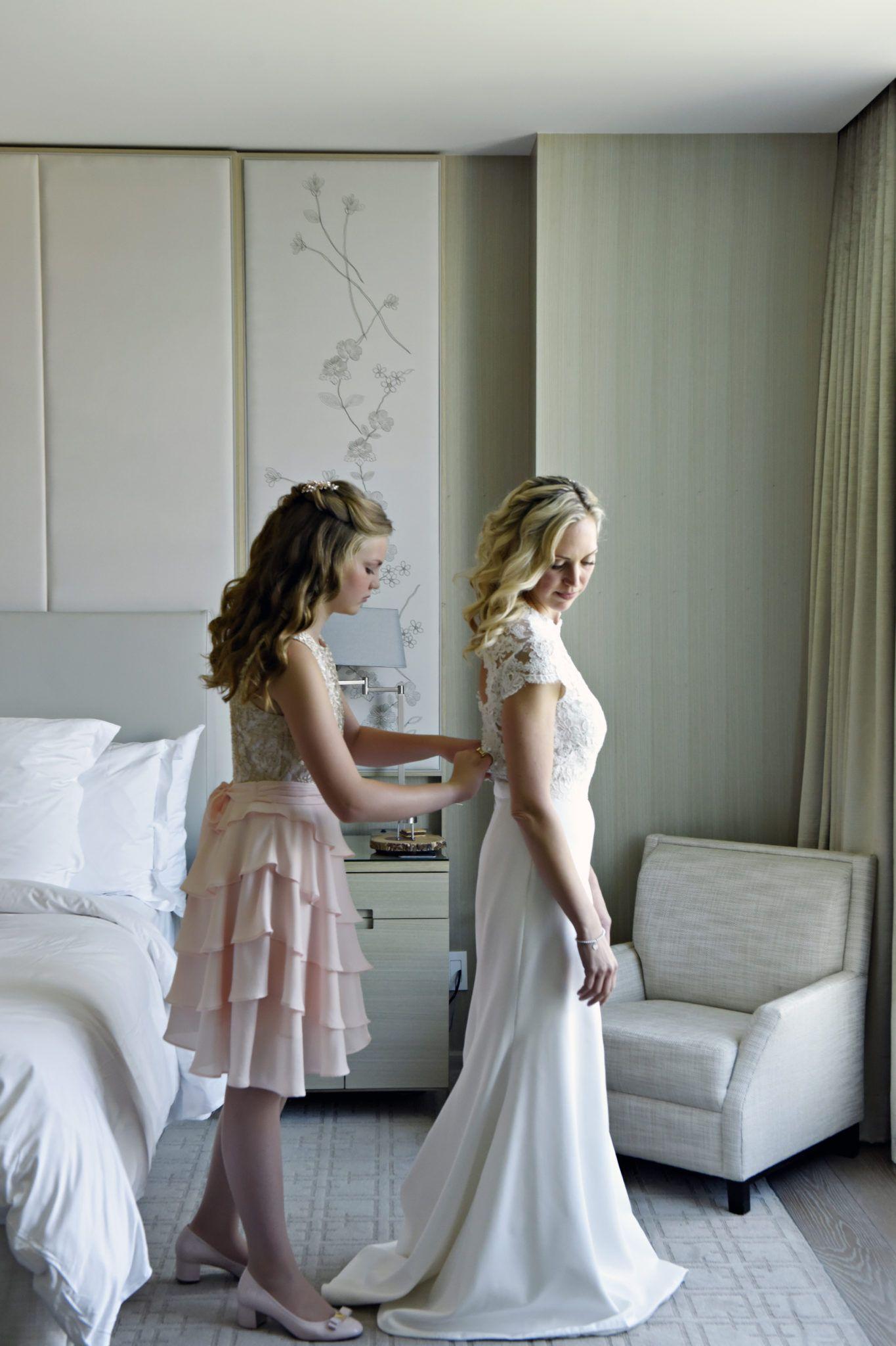 9f239b231f6d Real Lea-Ann Belter Bride   Erika + Mark's Intimate + Lovely Toronto  Backyard Wedding