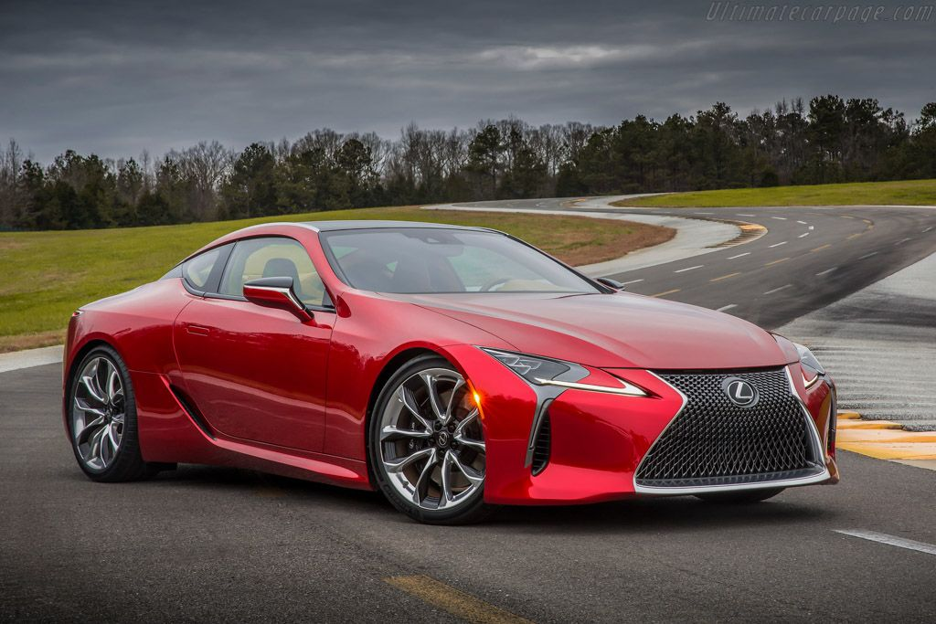 2016 Lexus LC 500 Images, Specifications and Information