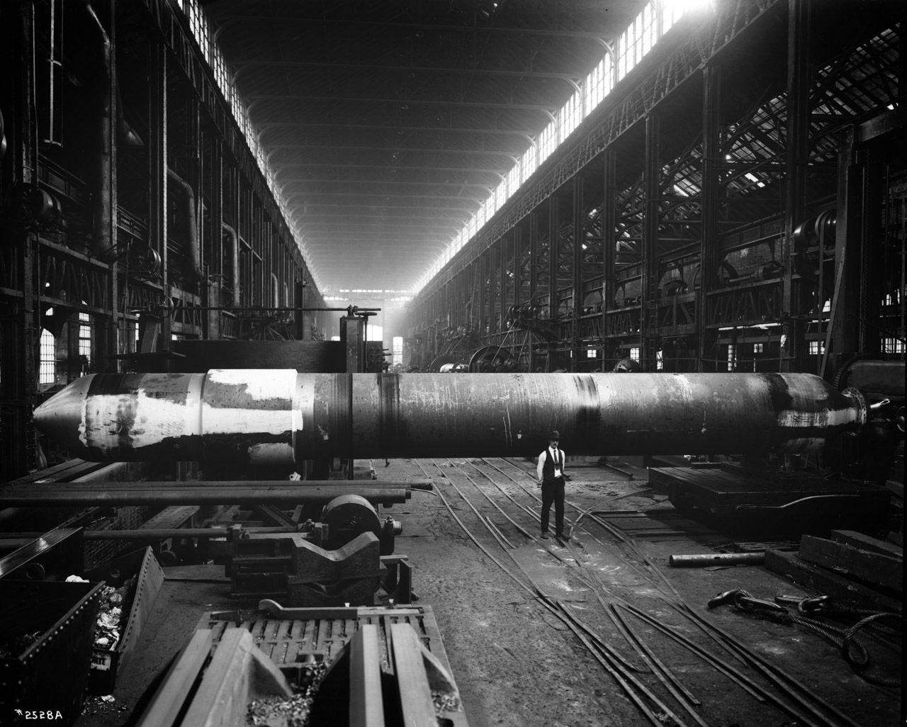 Machine Shop No 2 Machine Shop Bethlehem Steel Industrial Photography