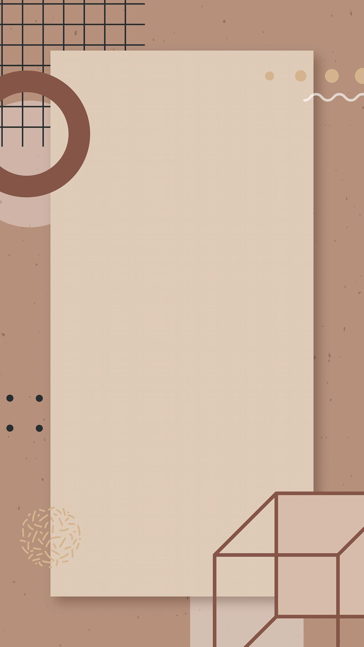 Download premium vector of Earth tone Memphis Facebook story background vector by Aew about beige background, abstract, abstract background, abstract background design, and abstract background images 2210992