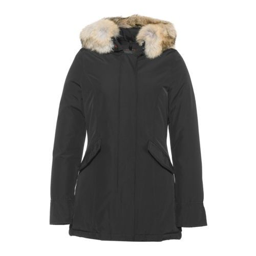 new concept aa88c 29a62 Woolrich Arctic Parka Jacke Schwarz Damen Outlet | My Style ...