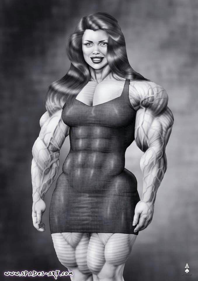 Can Drawings of women bodybuilders accept