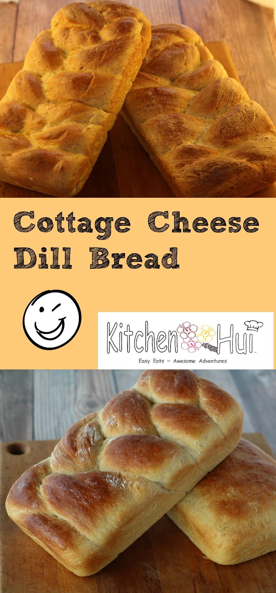 Easy To Make Bread With Cottage Cheese And Dill Weed