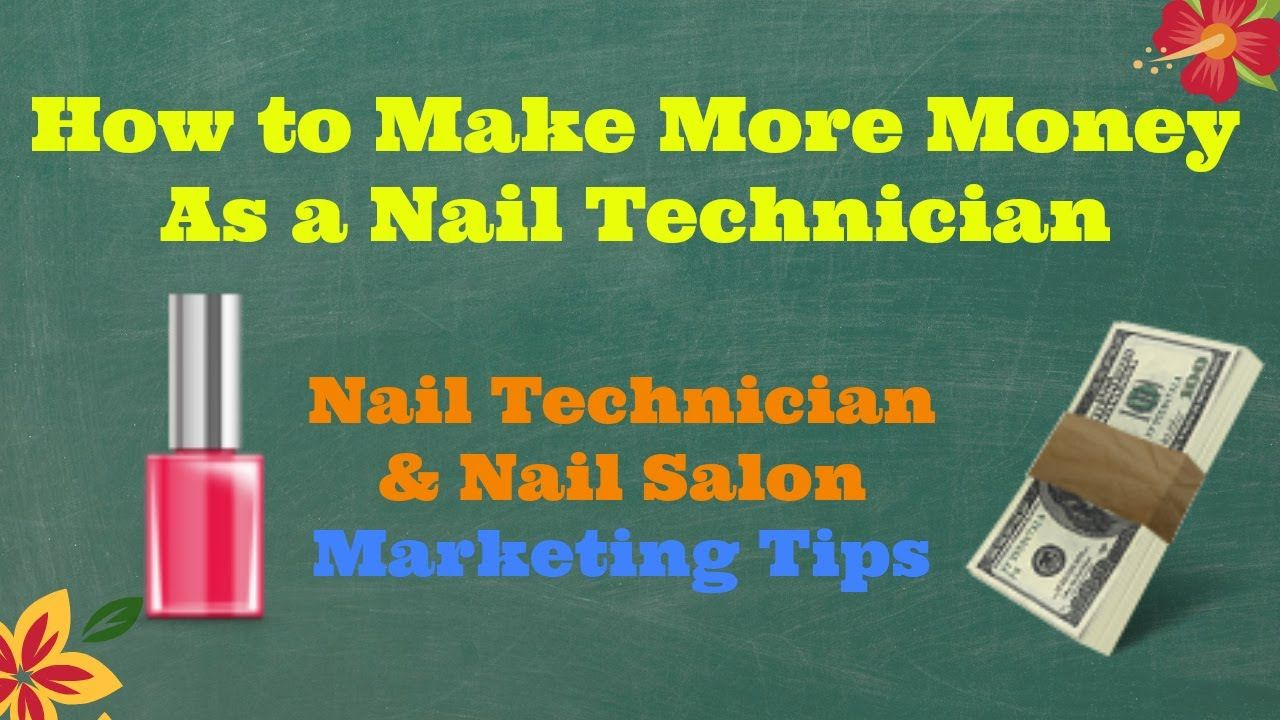 I HAD TO DO THIS! advertising ideas for nail technician