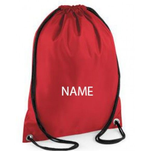 244d2a7dd883 Embroidered Personalised Gym Bags   Personalised Embroidered Gym Bag With A  Name Of Your Choice £8.45 free delivery  sports  school  gym  bag  childrens  ...