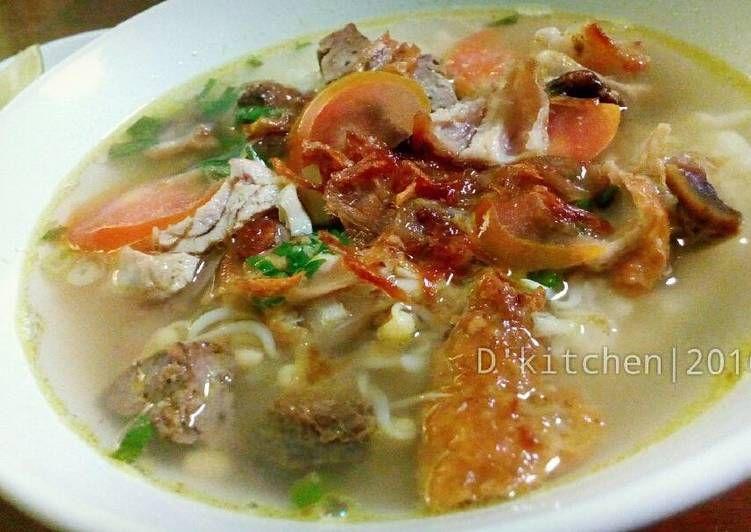 Resep Soto Ayam Rempah Bening Dan Segar Oleh Dinda Rizky Tan Resep Rempah Resep Makanan