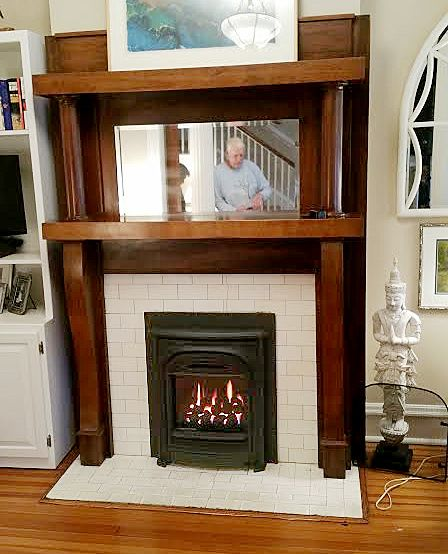 Gas Inserts Are Stoves That Are Inserted Into An Existing Fireplace