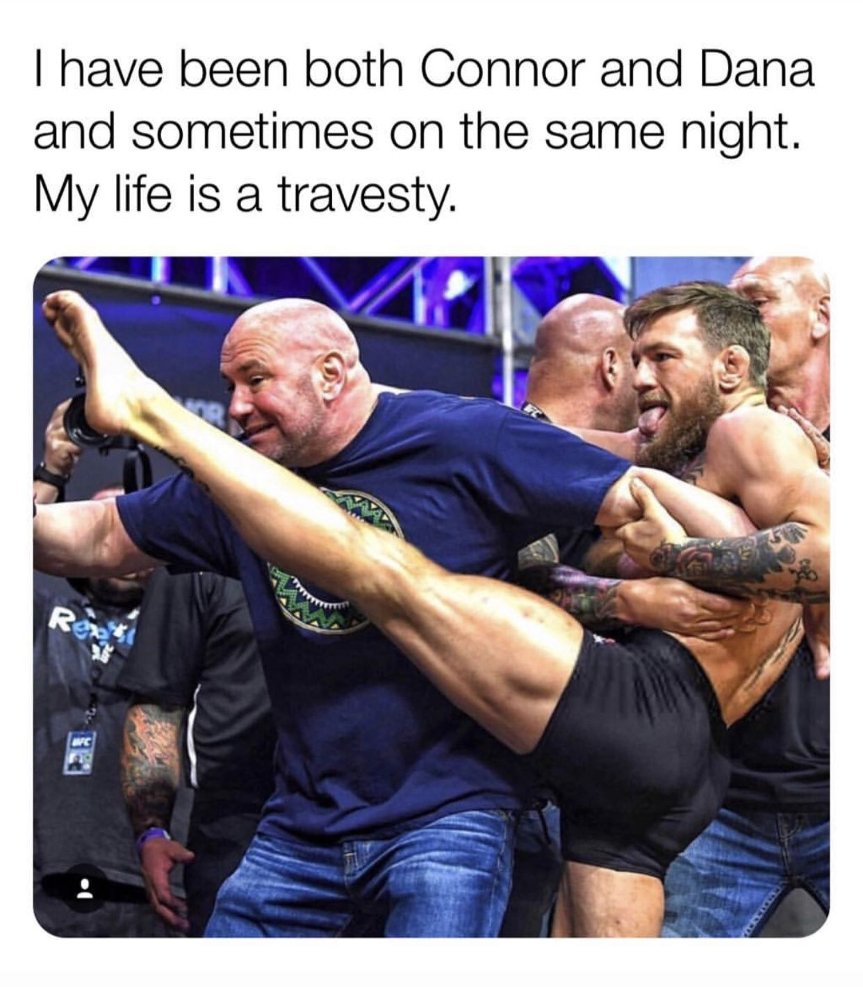Pin by Laura on Memes Laughter therapy, Conor mcgregor, Ufc