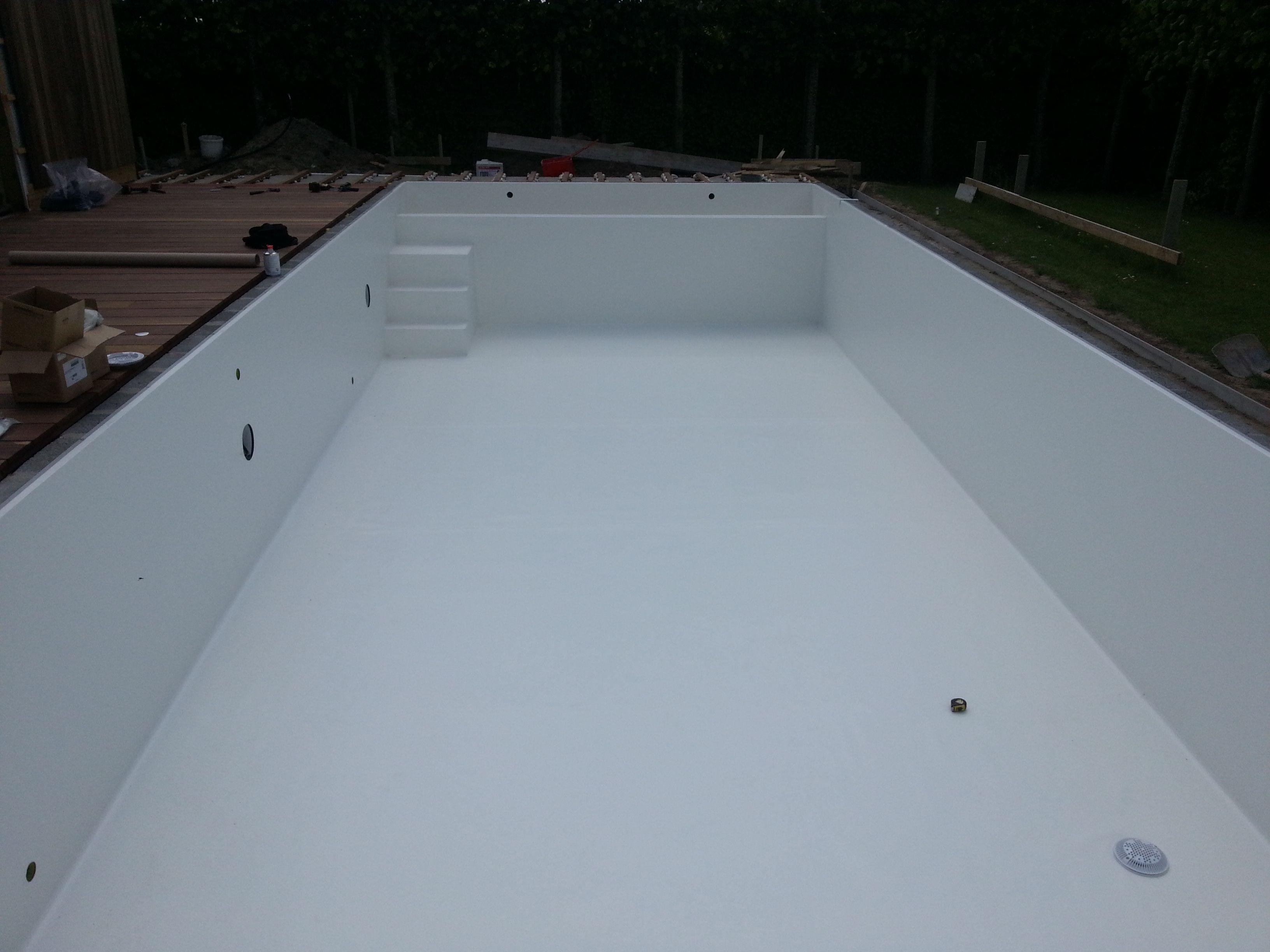Witte liner zwembaden jr pools pool water and