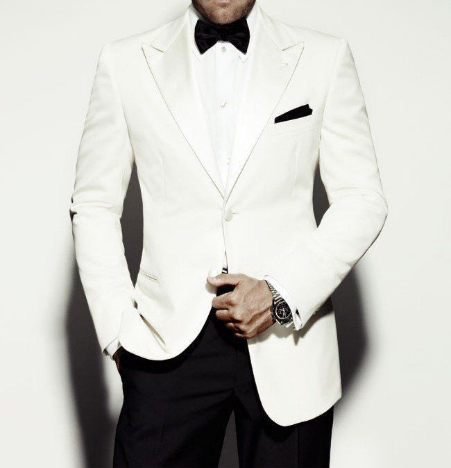 Spectre White Tuxedo Jacket perfect for groom. | mens suits ...