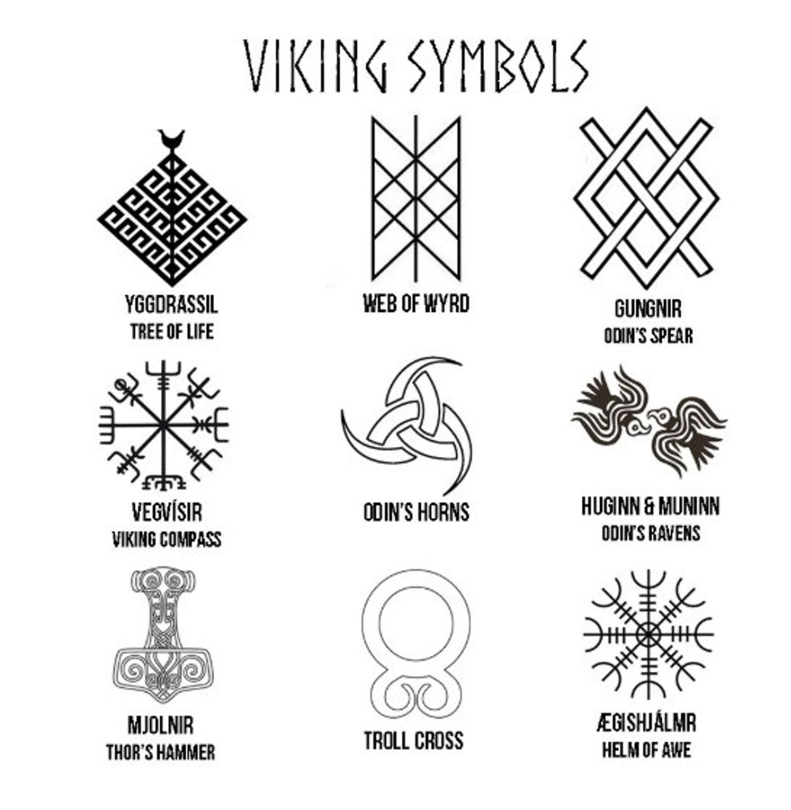 Norse Viking Symbols Drinking Horn Customizer in 2020