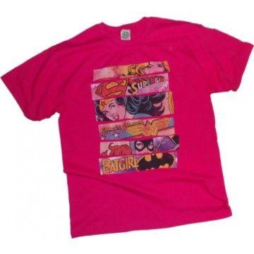 Three Of A Kind -- Supergirl - Wonder Woman - Batgirl Youth T-Shirt  #amightygirl