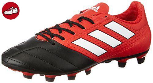 adidas Unisex-Kinder Ace 17.4 Fxg J Futsalschuhe, UK, Rot (Red/FTWR White/Core Black), 28 EU