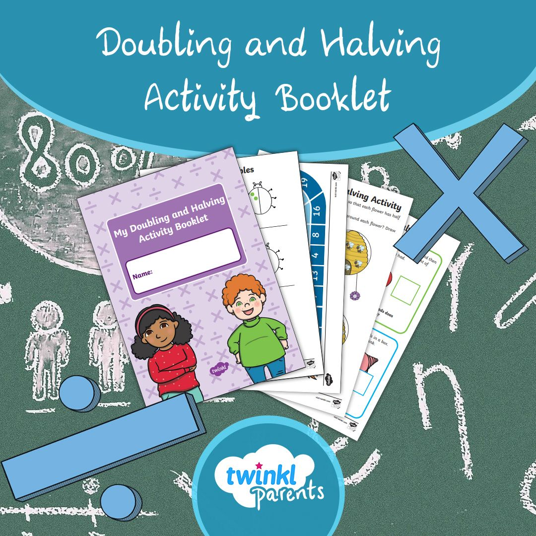 Doubling And Halving Activity Booklet In