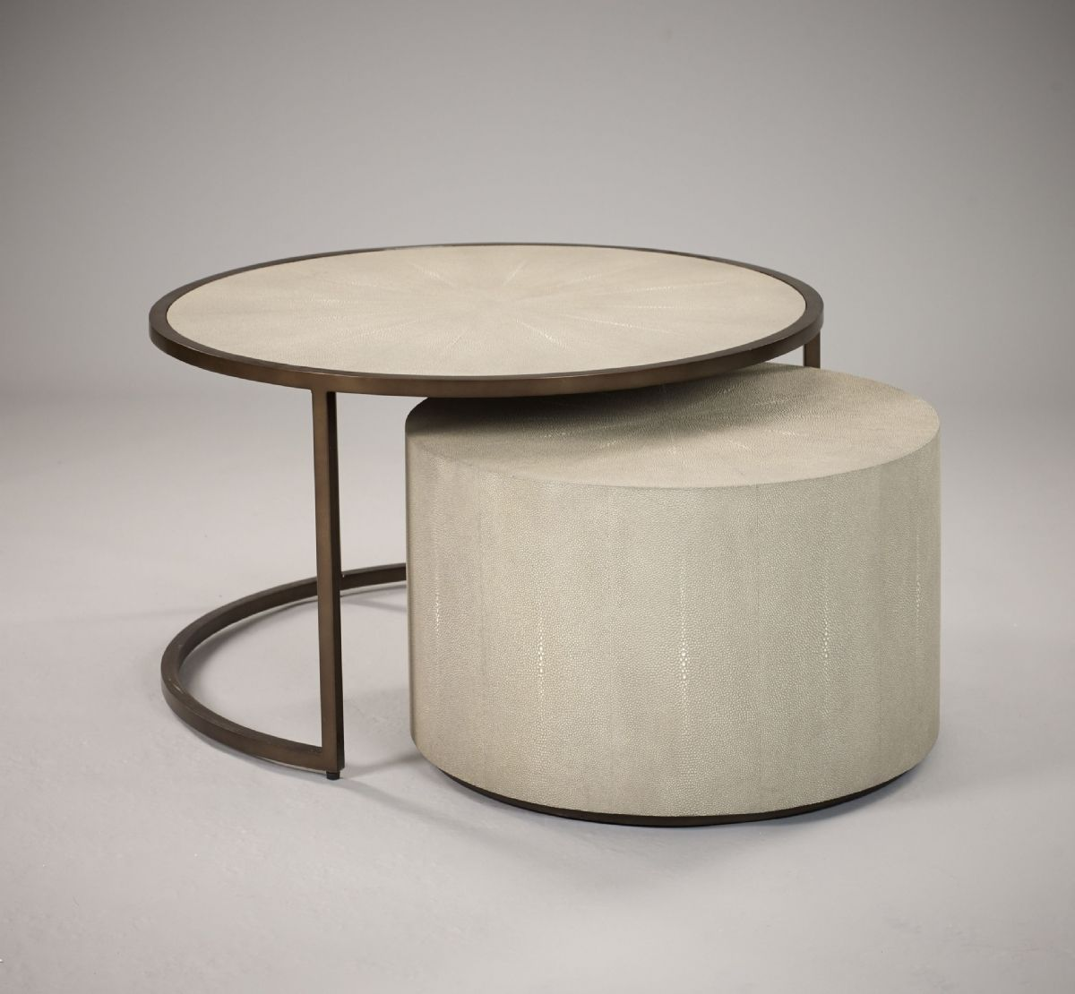 Stock Esher Coffee Table / Drum Set - Light | ROBERT.LANGFORD.LONDON : table drum set - pezcame.com