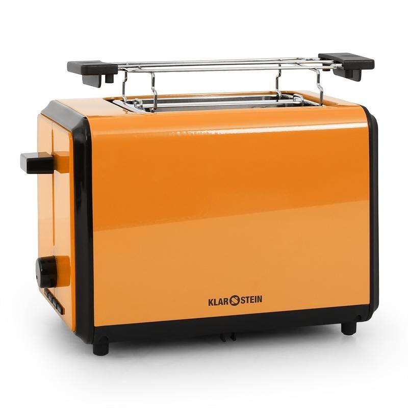 Klarstein Bonjour Toaster 800W Twin Wide Slots - Orange at best ...