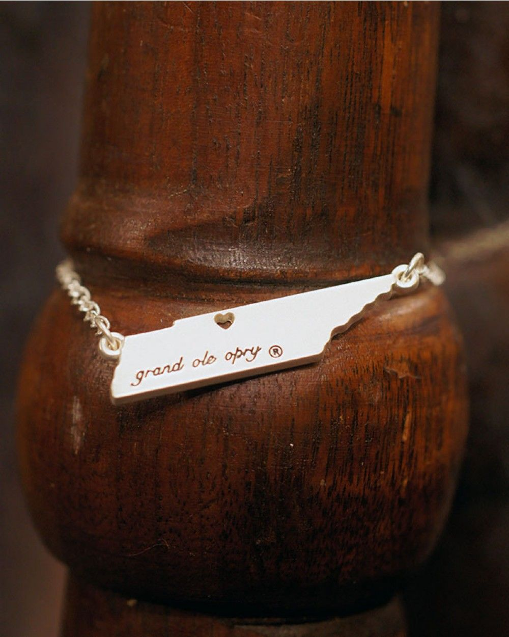 Opry Silver Tennessee Heart Bracelet - Jewelry - Accessories
