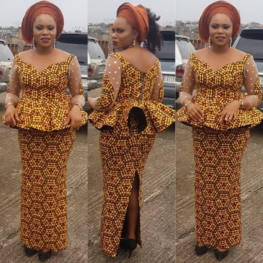 beab8fa8cb4aa1 Check out This Lovely Ankara Skirt and Blouse Styles Check out