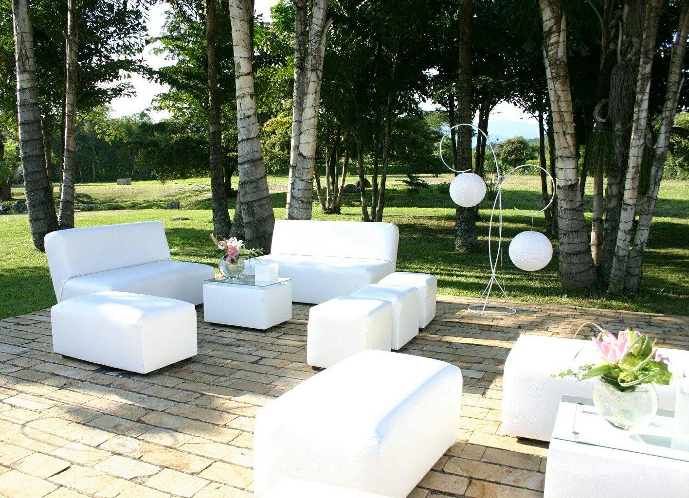 Sala Lounge Blanca 10 Puestos Organizaci N De Eventos Y Alquiler  # Muebles Lounge Para Eventos