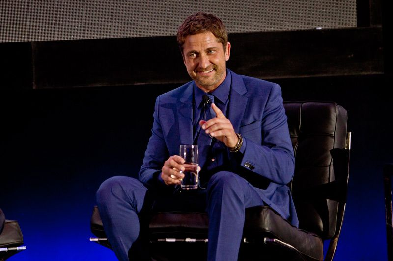 The faces of Gerard Butler who conquered their Mexican fans