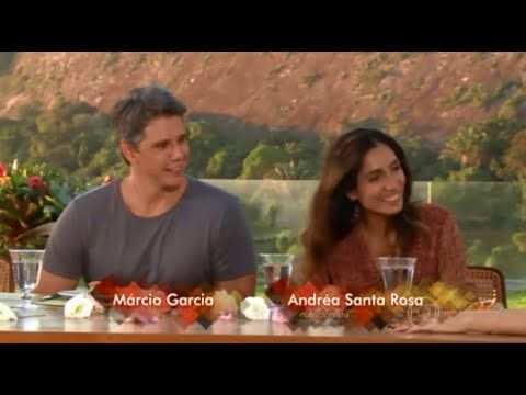 Márcio Garcia e Andréa Santa Rosa abrem casa e cozinham para Angélica - YouTube