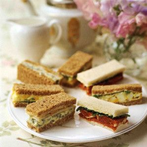 Recipes For A Traditional English Tea
