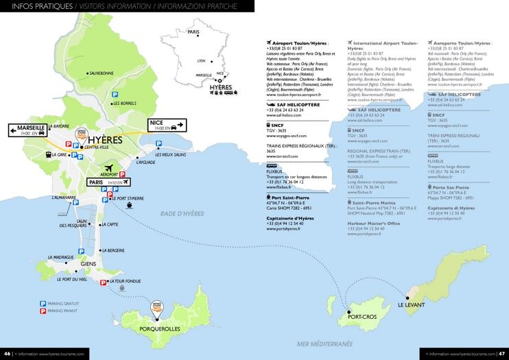 Hyres area map Maps Pinterest France and City