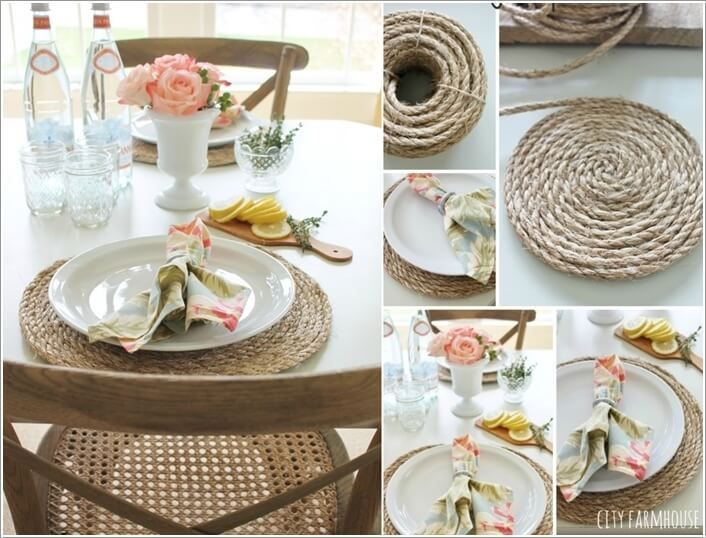 10 Wonderful Diy Placemat Ideas For Your Dining Table Wedding