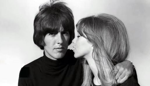 George and Pattie by Harry Grossman