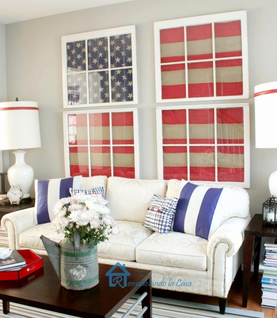 Image Result For Americana Living Room Blue Living Room Americana Living Rooms Home Decor Styles Americana living room decorating