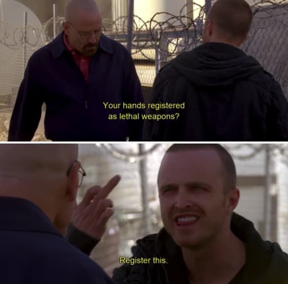 When Jesse Showed Off His Powers Of Negotiation Breaking