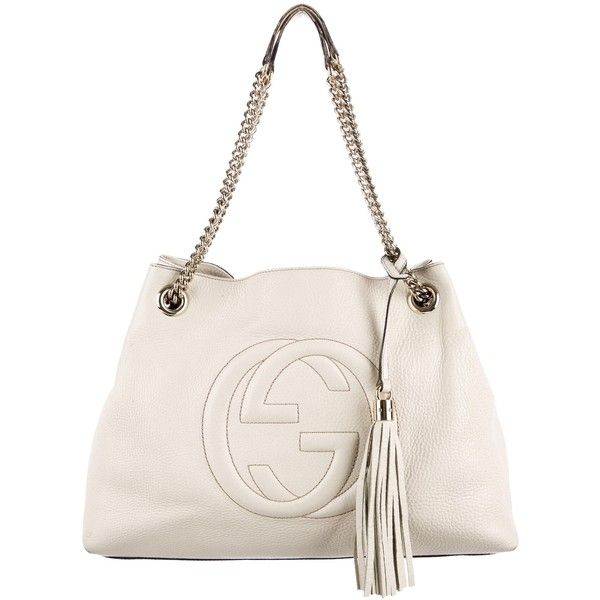 6463c0eee98 Pre-owned Gucci Soho Chain Shoulder Bag ( 995) ❤ liked on Polyvore  featuring bags