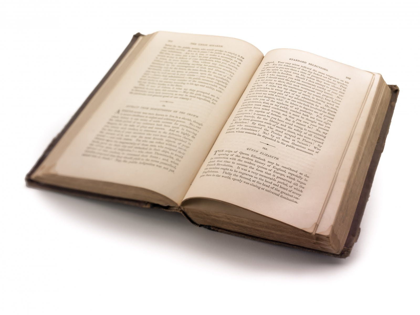 open book with words Google Search Paper writing