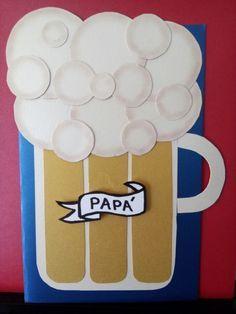 Tarjeta Tarro De Cerveza Día Del Padre Tarjetas Dia Del
