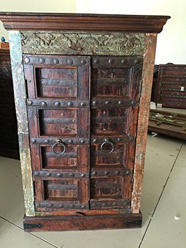 Mogulinterior Armoire Cabinet Reclaimed Antique Vintage Patina Storage  Indian Furniture Mogul Interior Http://