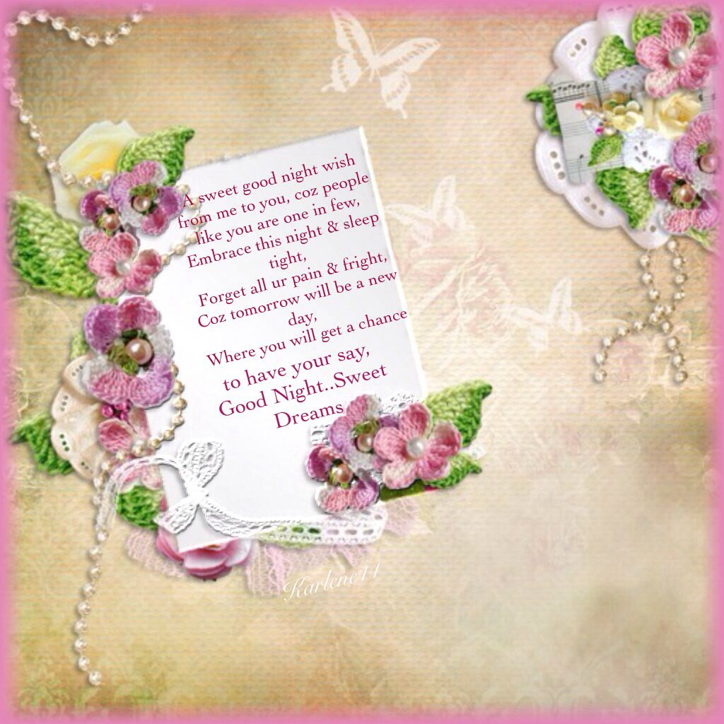 Good Nightsweet Dreams Blessings To Well Wishing Pinterest