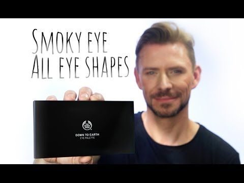SMOKEY EYE FOR ALL EYE SHAPES - PLACEMENT! #AD - YouTube