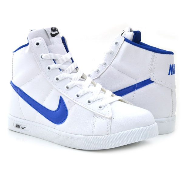 Nike 1212 Beyaz Mavi Spor Bot Nike Bot Air Max