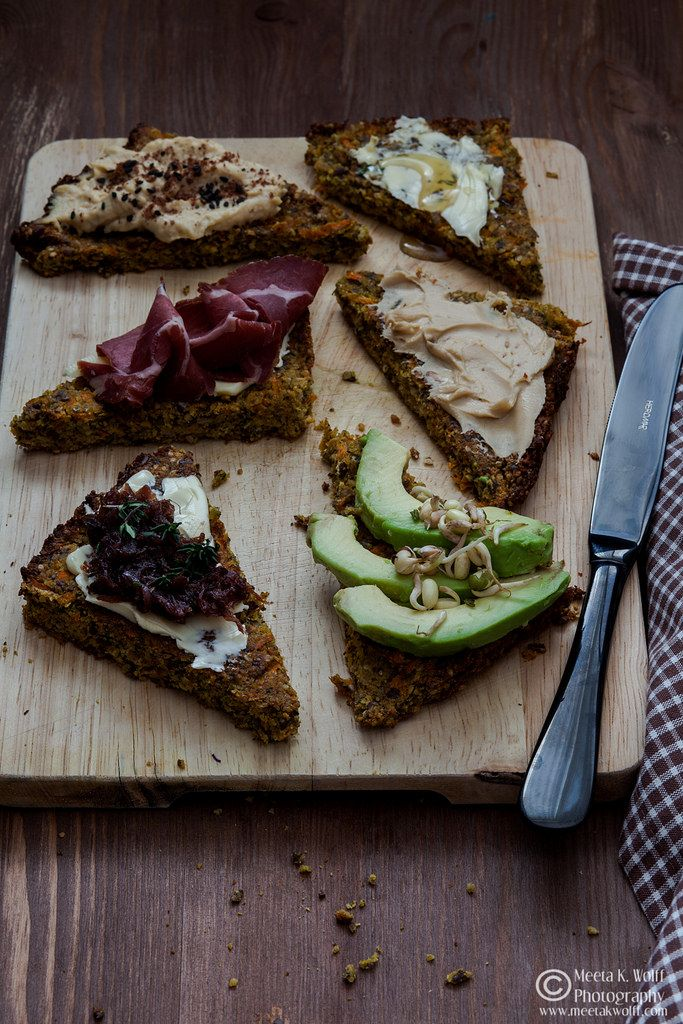 Flourless Carrot MultiSeed and Nut Bread Recipe Food