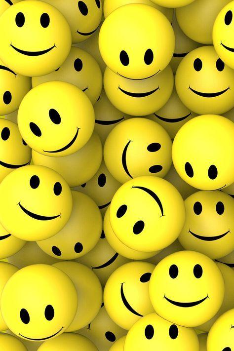 3d Smileys Smileys Smile Iphone Wallpaper 3d Wallpaper For Mobile Happy Wallpaper Emoji Wallpaper