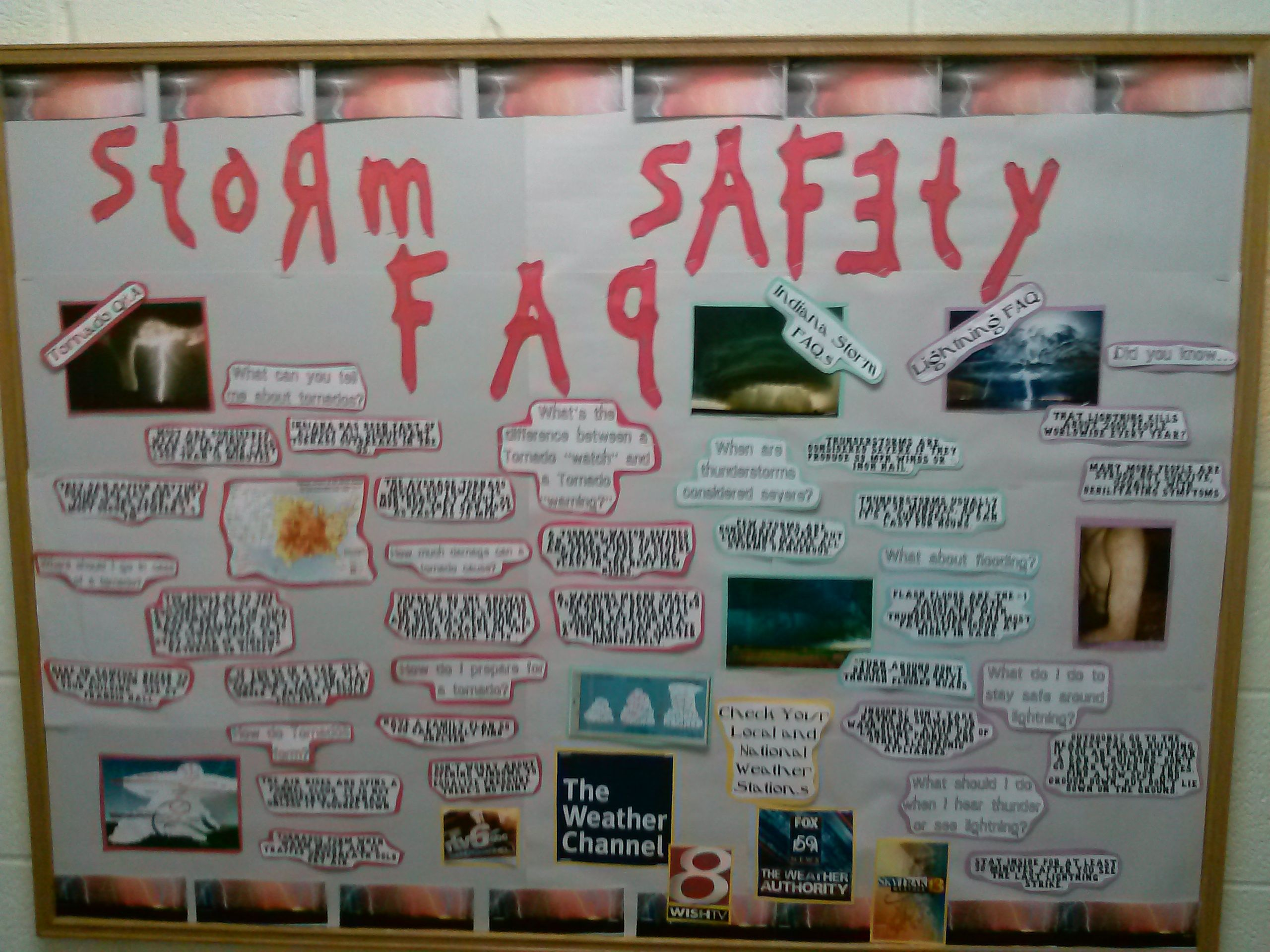 April Storm Safety Facts About Tornados Thunderstorms