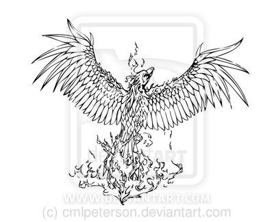 Phoenix Rising From The Ashes Tattoo Google Search Tattoo Ideas