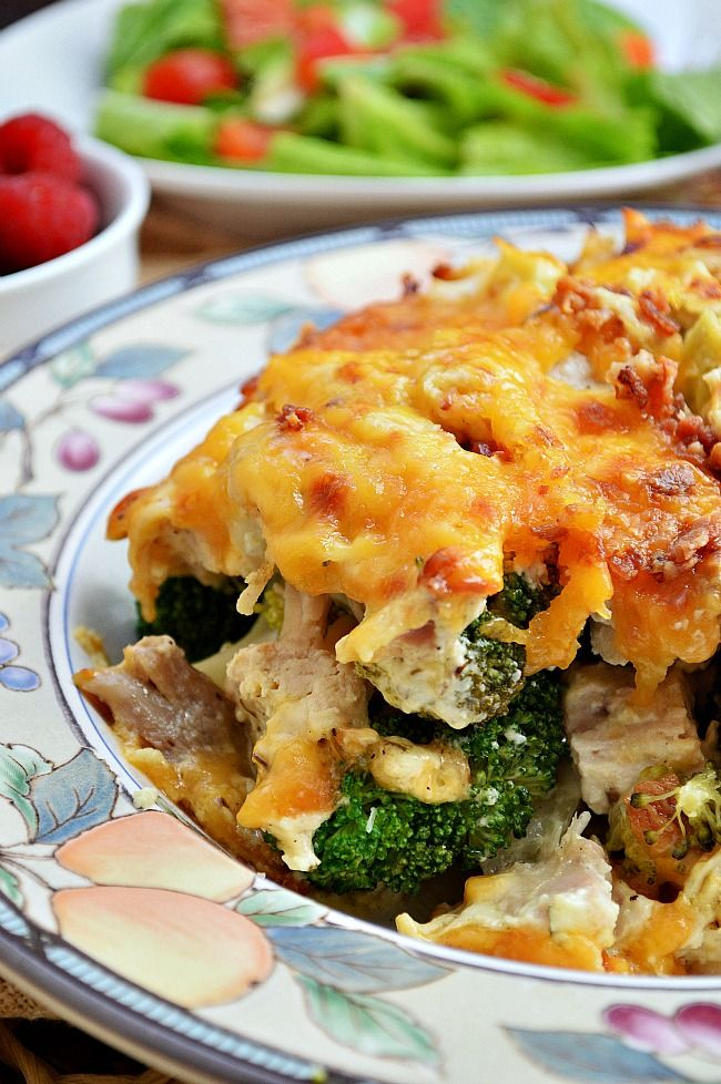 Honey Mustard Chicken Broccoli Casserole