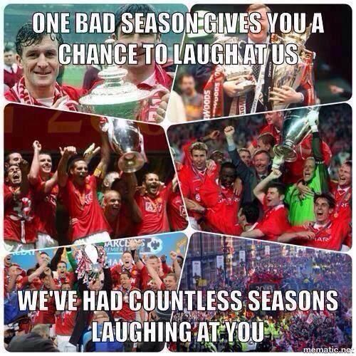 Footy Jokes on   Footy jokes, Manchester united football ...
