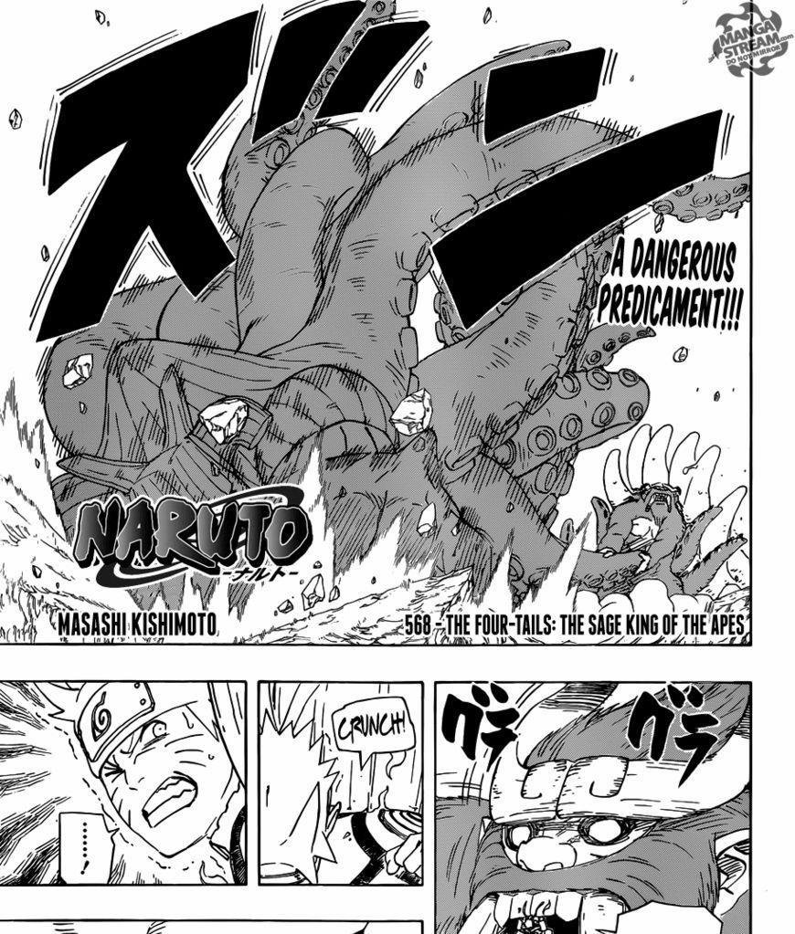 Manga Online Reads: Naruto Chapter 568 Page 1 / Naruto Manga