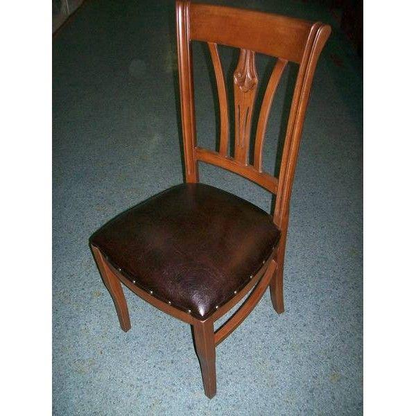 Klasik Oymalı Sandalye